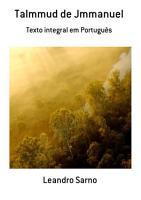 Talmmud De Jmmanuel PDF