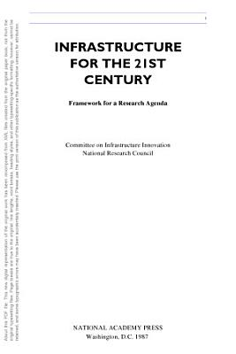 Infrastructure for the 21st Century PDF