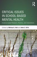 Critical Issues in School based Mental Health PDF