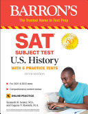 SAT Subject Test U S  History PDF