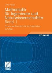 Mathematik für Ingenieure und Naturwissenschaftler Band 1: Ein Lehr- und Arbeitsbuch für das Grundstudium, Ausgabe 12