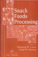 Snack Foods Processing PDF