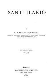 Sant'Ilario: Volume 3