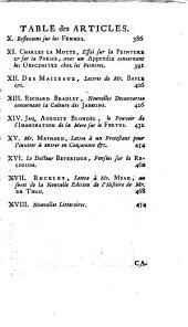 Bibliothèque raisonnée des ouvrages des savans de l'Europe: Volume5