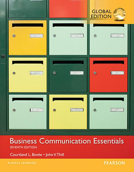 Business Communication Essentials  Global Edition PDF