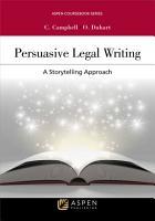 Persuasive Legal Writing PDF