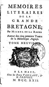 Mémoires littéraires de la Grande Bretagne: pour l'an ...