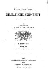 Österreichische militärische Zeitschrift: 1861, 2
