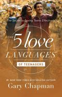 The 5 Love Languages of Teenagers PDF
