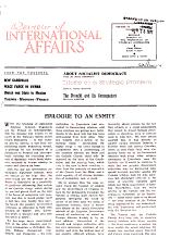 Review of International Affairs PDF