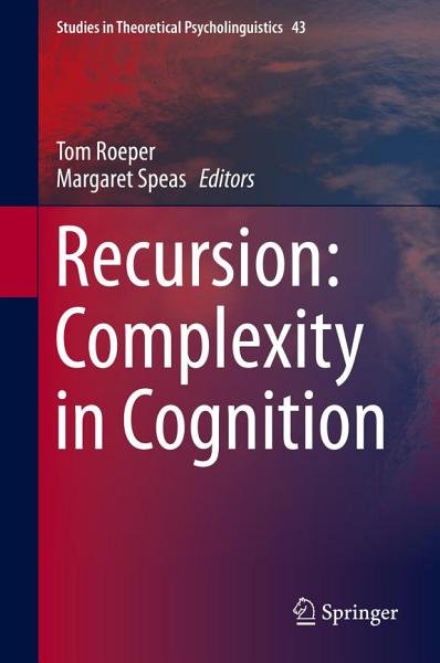 Download Recursion  Complexity in Cognition Book