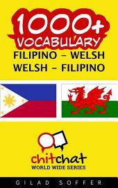 1000+ Filipino - Welsh Welsh - Filipino Vocabulary