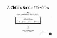 A Child s Book of Parables