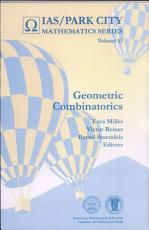 Geometric Combinatorics PDF