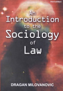 An Introduction to the Sociology of Law PDF