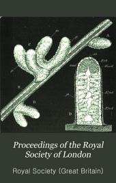 Proceedings of the Royal Society of London: Volume 38