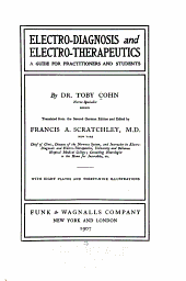 Electro-diagnosis and Electro-therapeutics: A Guide for Practitioners and Students