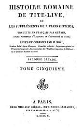 Histoire romaine: Seconde décade, Volume5