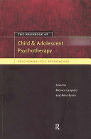 The Handbook of Child and Adolescent Psychotherapy