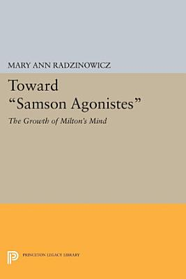 Toward Samson Agonistes PDF