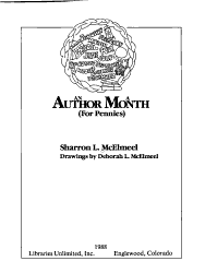 An Author A Month Book PDF