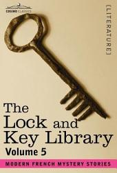 The Lock and Key Library: Modern French Mystery Stories