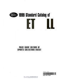 1999 Standard Catalog of Basketball Cards PDF