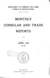 Monthly consular and trade reports: Issues 307-309