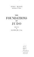 The Foundations of Judo PDF