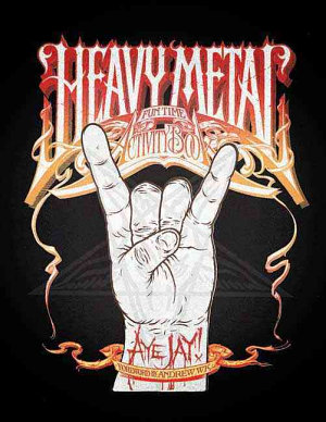 Heavy Metal Fun Time Activity Book PDF