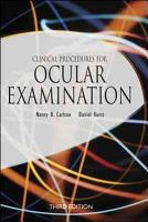 Clinical Procedures for Ocular Examination  Third Edition PDF