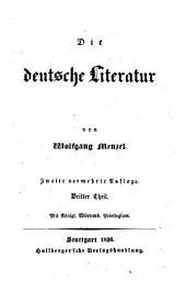 Die deutsche Literatur. 2., verm. Aufl. -Stuttgart, Hallberger 1836