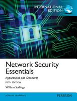 Network Security Essentials  Applications and Standards  International Edition PDF