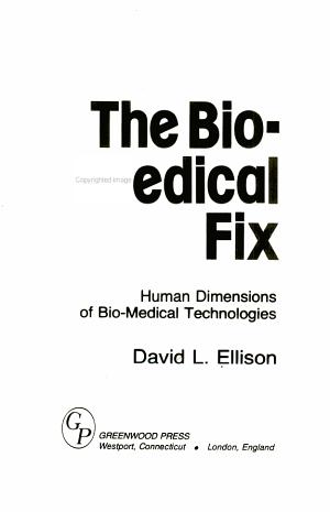 The Bio-medical Fix