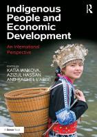 Indigenous People and Economic Development PDF
