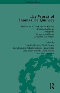 The Works of Thomas De Quincey  Part III vol 20 PDF
