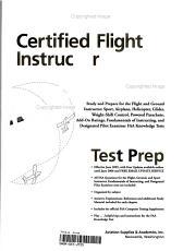 Certified Flight Instructor Test Prep 2006 PDF