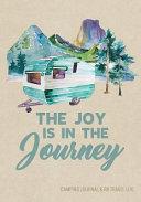 Camping Journal and RV Travel Logbook, Blue Vintage Camper Journey