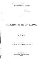 Annual Report of the Commissioner of Labor PDF
