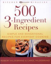 500 3 Ingredient Recipes Book PDF
