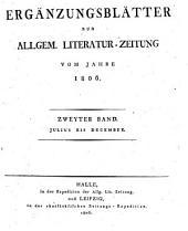 Allgemeine Literatur-Zeitung: Die Ergänzungsblätter
