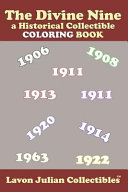 The Divine Nine  A Historical Collectible Coloring Book PDF
