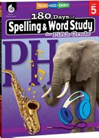 180 Days of Spelling and Word Study for Fifth Grade PDF