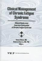 Clinical Management of Chronic Fatigue Syndrome PDF
