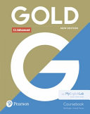 Gold C1 Advanced New Edition Coursebook and MyEnglishLab Pack
