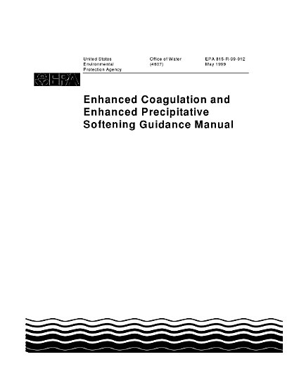Enhanced coagulation and enhanced precipitative softening guidance manual PDF