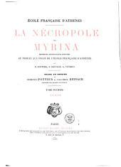 La nécropole de Myrina: Texte. Descripion des planches