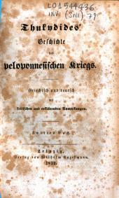 Thukydides' Geschichte des peloponnesischen Kriegs: 2