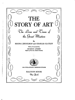 The Story of Art Book