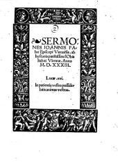 Sermones ab hystoria patientissimi Jobis (etc.)
